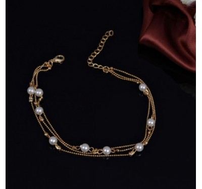 "Kojos papuošalas ""Golden ball pendant chain"""