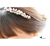 """Plauku lankelis """"Pearl hair hoop"""""""