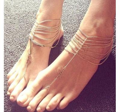 "Kojos papuošalas ""Summer"""