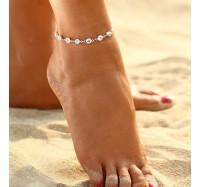 """Kojos papuošalas """"Crystal anklet"""""""