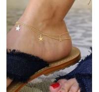 """Kojos papuošalas """"Three stars"""""""