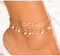 """Kojos papuošalas """"Infinity Star"""""""
