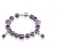 "Apyrankė ""Silver Charm Bracelet"""
