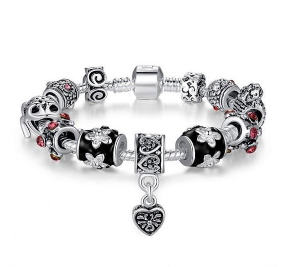 "Apyrankė ""Silver Heart Bracelet"""