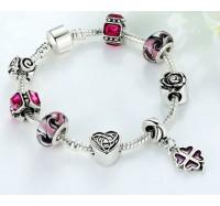 "Apyrankė ""Silver Rose Bracelet"""