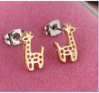 """Auskarai """"Giraffe"""""""