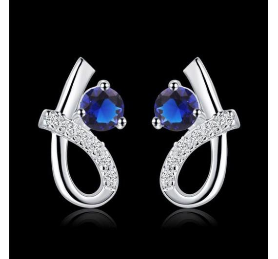"Auskarai ""Exquisite Blue"""