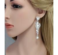 "Auskarai ""Bride pearl"""