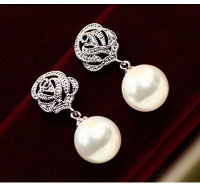"""Auskarai """"Trendy perl"""""""