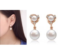 "Auskarai ""Charming pearl earrings"""