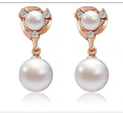 """Auskarai """"Charming pearl earrings"""""""
