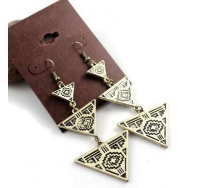 """Auskarai """"Charm Triangles"""""""