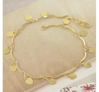"Apyrankė ""Heart charms bracelet"""