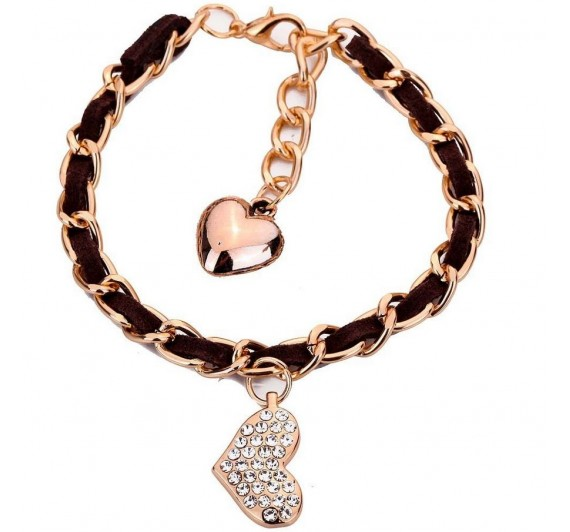 "Apyrankė ""Heart shape bracelet"""