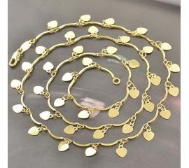 "Grandinėlė ""Heart necklace"""