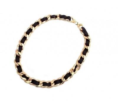 """Kaklo papuošalas """"Fashion braided necklace"""""""