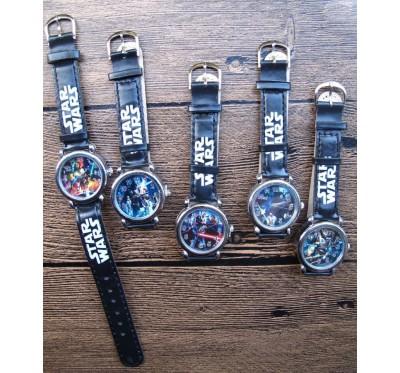 """Vaikiškas laikrodis """"Star wars"""""""