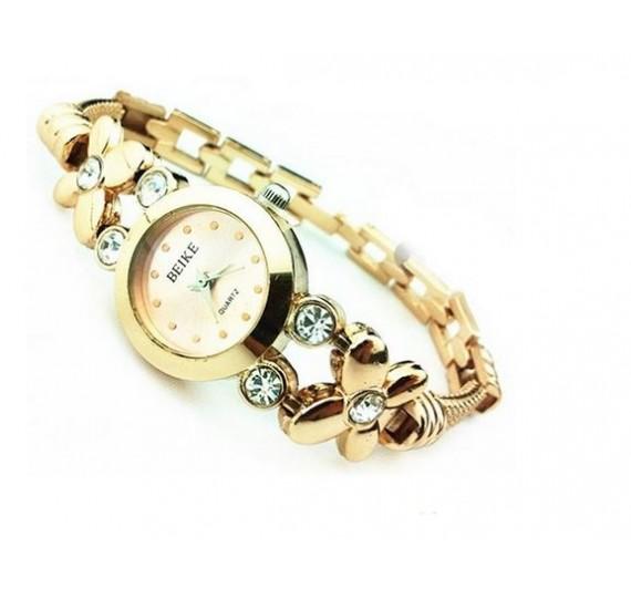 """Moteriškas laikrodis """"Rhinestone Quartz"""""""