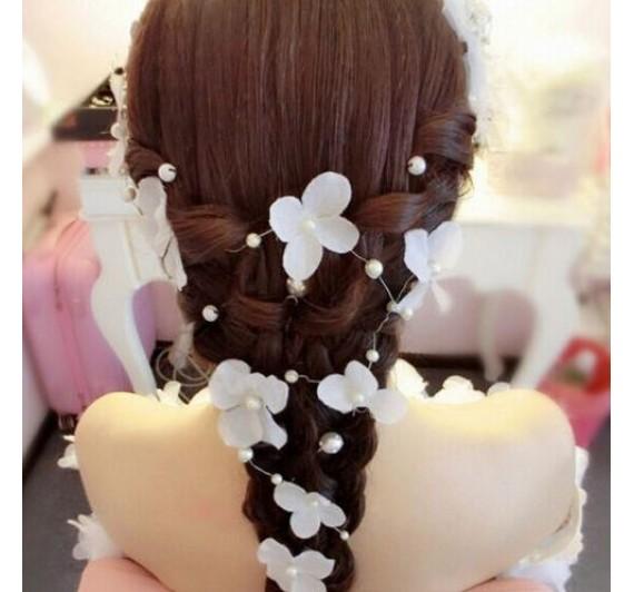 """Nuotakos plaukų aksesuaras """"Flower"""""""
