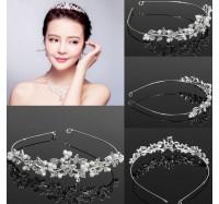 """Vestuvinis plaukų aksesuaras  """"Crystal Crown"""""""