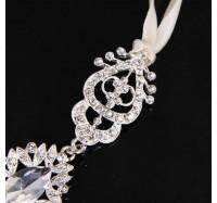 """Vestuvinis plaukų aksesuaras """"Silver bride"""""""
