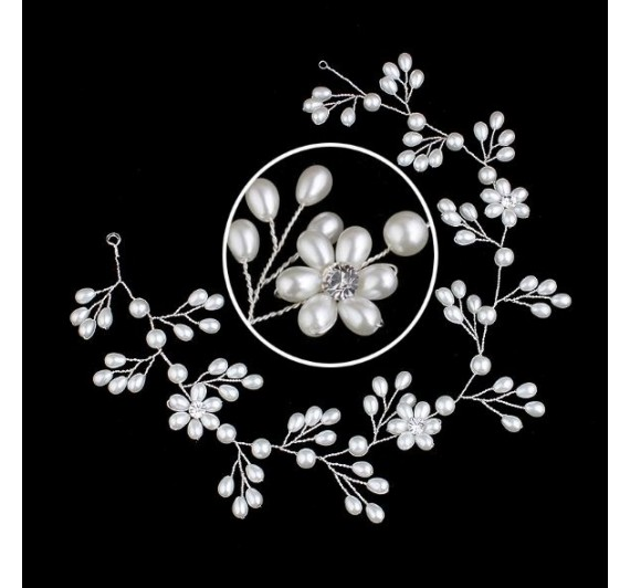 """Vestuvinis plaukų aksesuaras """"Flower Vine"""""""