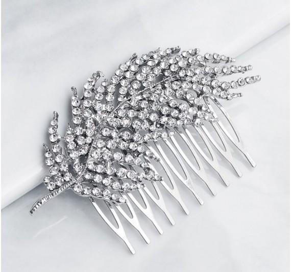 """Vestuvinė plaukų sagė  """"Peacock"""""""