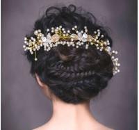 """Vestuvinis plaukų aksesuaras """"Brilliant Rose"""""""