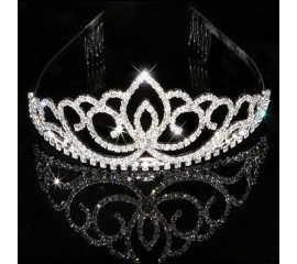 """Vestuvinis plaukų aksesuaras  """"Lotus tiara"""""""