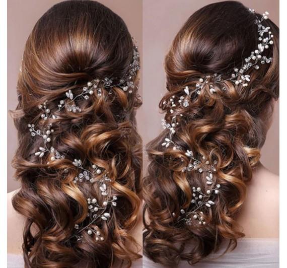 """Vestuvinis plaukų aksesuaras """"Mini Lora"""""""