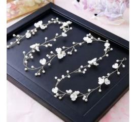 """Vestuvinis plaukų aksesuaras """"Pearl flower"""""""