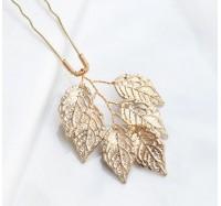 """Plaukų smeigtukai """"Golden leaf"""" 1vnt"""