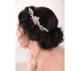 """Nuotakos plaukų aksesuaras """"Elegant silver"""""""