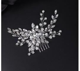 """Nuotakos plaukų aksesuaras """"Elegant crystal Bride"""""""