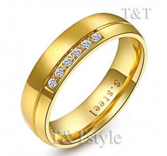 Nerūdijančio plieno žiedas -16