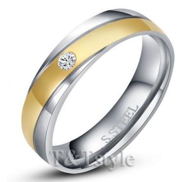Nerūdijančio plieno žiedas -06