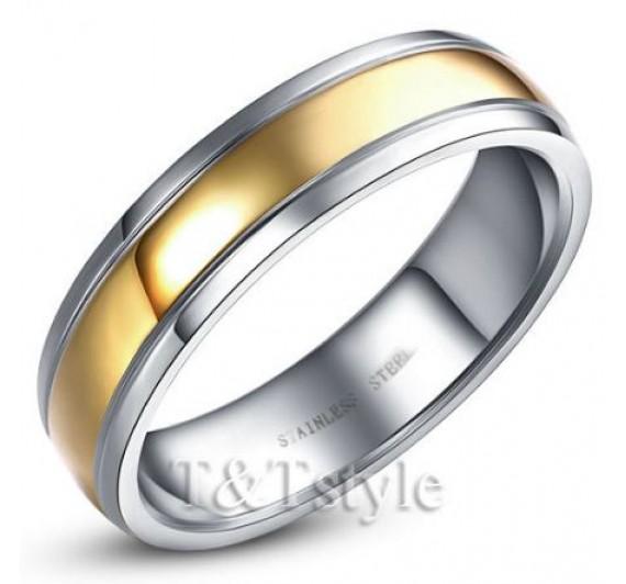 Nerūdijančio plieno žiedas -07