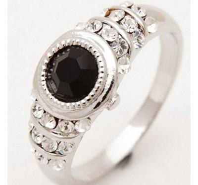 """Žiedas """"Black saphires"""""""