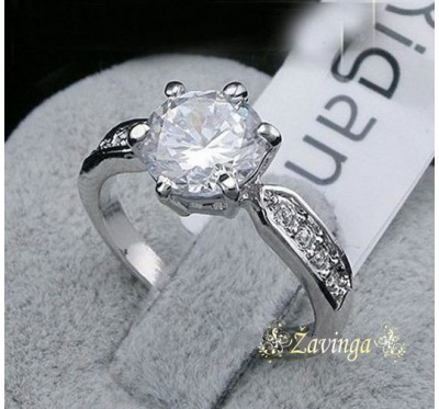 "Žiedas ""Crystal swarovski ring"""
