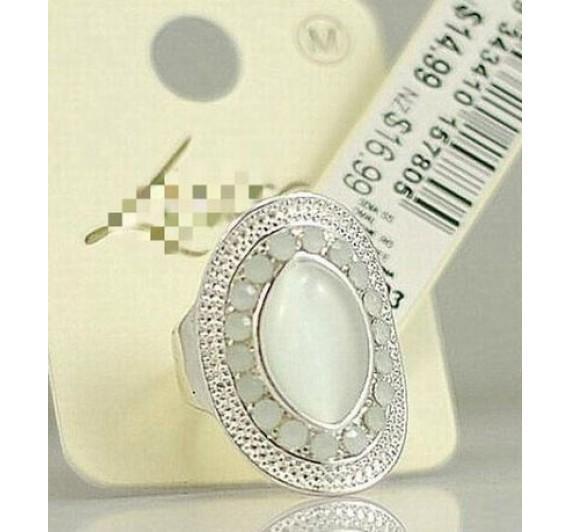 "Žiedas ""Oval opal design"""