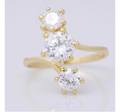 "Žiedas ""Sapphire gem"""
